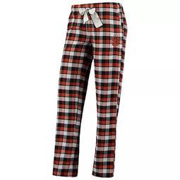 Women's Concepts Sport Black San Francisco Giants Piedmont Flannel Pants