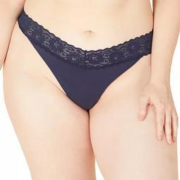 Plus Size Cosabella Amore Adore Lace Thong ADORE0341P