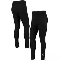 Women's ZooZatz Black Michigan State Spartans Plus Size Fleece-Lined Leggings