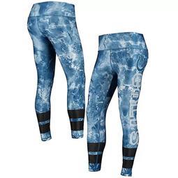 Women's Concepts Sport Royal/Black Indianapolis Colts Dormer Knit Leggings