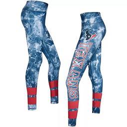 Women's Concepts Sport Navy/Red Houston Texans Dormer Knit Leggings