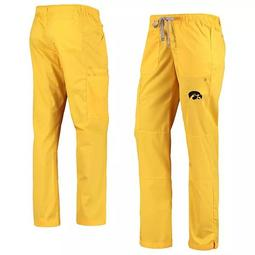 Women's Gold Iowa Hawkeyes Straight Leg Cargo Pants