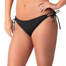 Women's G-III 4Her by Carl Banks Black Green Bay Packers Without Limits Bikini Bottom