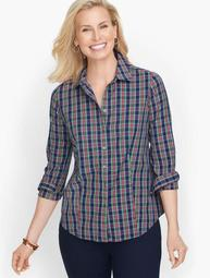 Perfect Shirt - Colorful Plaid