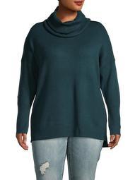 Plus Babysoft Cowlneck Sweater