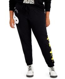 Trendy Plus Size Snoopy Sweatpants