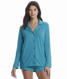 Bella Knit Top & Boxer Pajama Set
