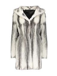 Made For Generations Longhair Mink Fur Hooded Stroller Jacket