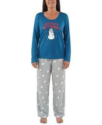 Matching Women's Holiday Merry Sithmas Family Pajama Set