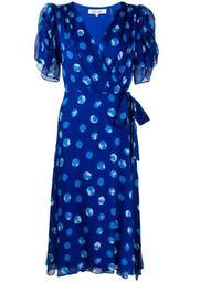Kimora silk wrap dress