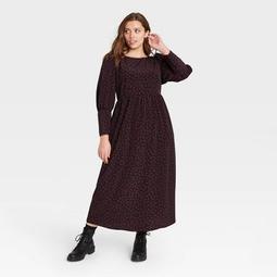 Women's Puff Long Sleeve Dress - Who What Wear™