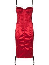 bodice lace-up dress