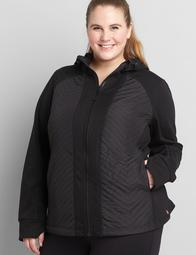 LIVI Quilted Hooded Jacket