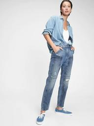 Workforce Collection High Rise Distressed Jeans