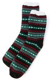 Sweater Double-Layer Slipper Socks