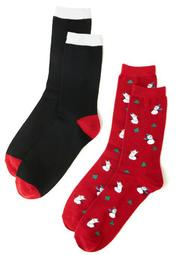Snowman 2-Pack Socks