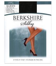 Queen Silky Sheer Control Top Pantyhose