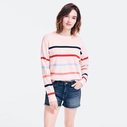 SUSTAINABLY CRAFTED STRIPED SWEATER