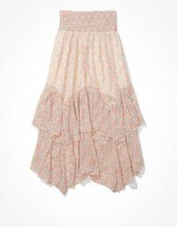 AE Ruffled Maxi Skirt