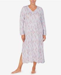 Women's Plus Long Sleeve Lounger