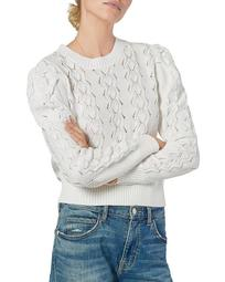 Sigourney Pointelle Sweater