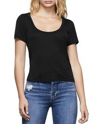 Scoop-Neck Tee