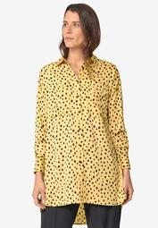 Hi-Low Tunic With Oversized Pockets