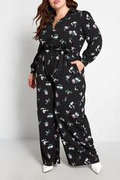 Everything & More Floral Jumpsuit