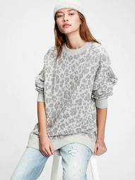 Vintage Soft Tunic Crewneck Sweatshirt
