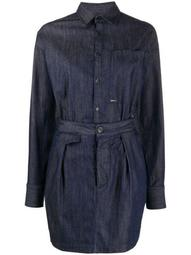 two-piece style denim dress