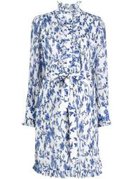 Deneuve Francesca DiMattio print dress