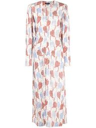 Blaine V-neck maxi dress