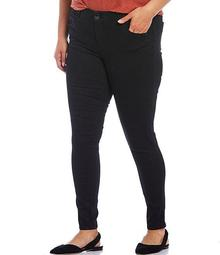 Plus Size Mid-Rise Ab-solution Jeggings