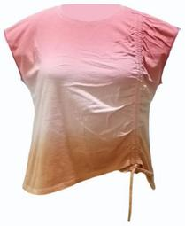 INC Plus Size Ruched Ombré T-Shirt, Created for Macy's
