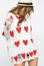 Valentines Heart Sweater