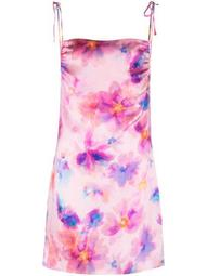 Margrette tie-dye mini slip dress