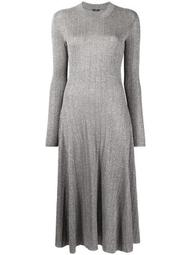 Diva ribbed knitted dress