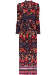 Nazca printed shirt dress