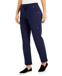Plus Size Drawstring Cargo Pants, Created for Macy's