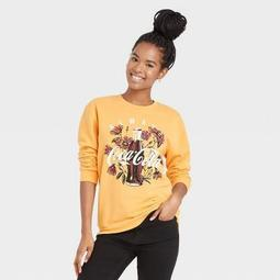 Women's Coca-Cola Graphic Sweatshirt - Yellow