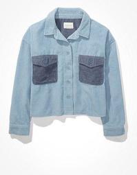 AE Corduroy Shirt Jacket