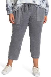 Rekka Burnout Ankle Crop Joggers