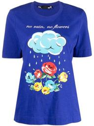No Rain No Flowers-print t-shirt
