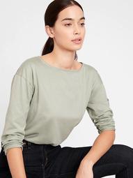 SUPIMA® Boat-Neck T-Shirt
