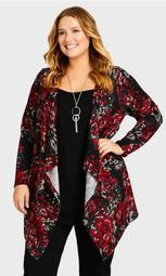 Town Necklace Duet Tunic - red