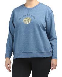 Plus Made To Shine Sweatshirt