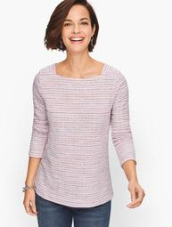 Square Neck Long Sleeve Tee
