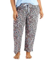 Plus Size Printed Pajama Pants, Created for Macy's