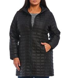 Plus Size Thermoball Eco Parka with Hood