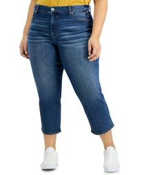 Trendy Plus Size Relaxed Straight-Leg Jeans